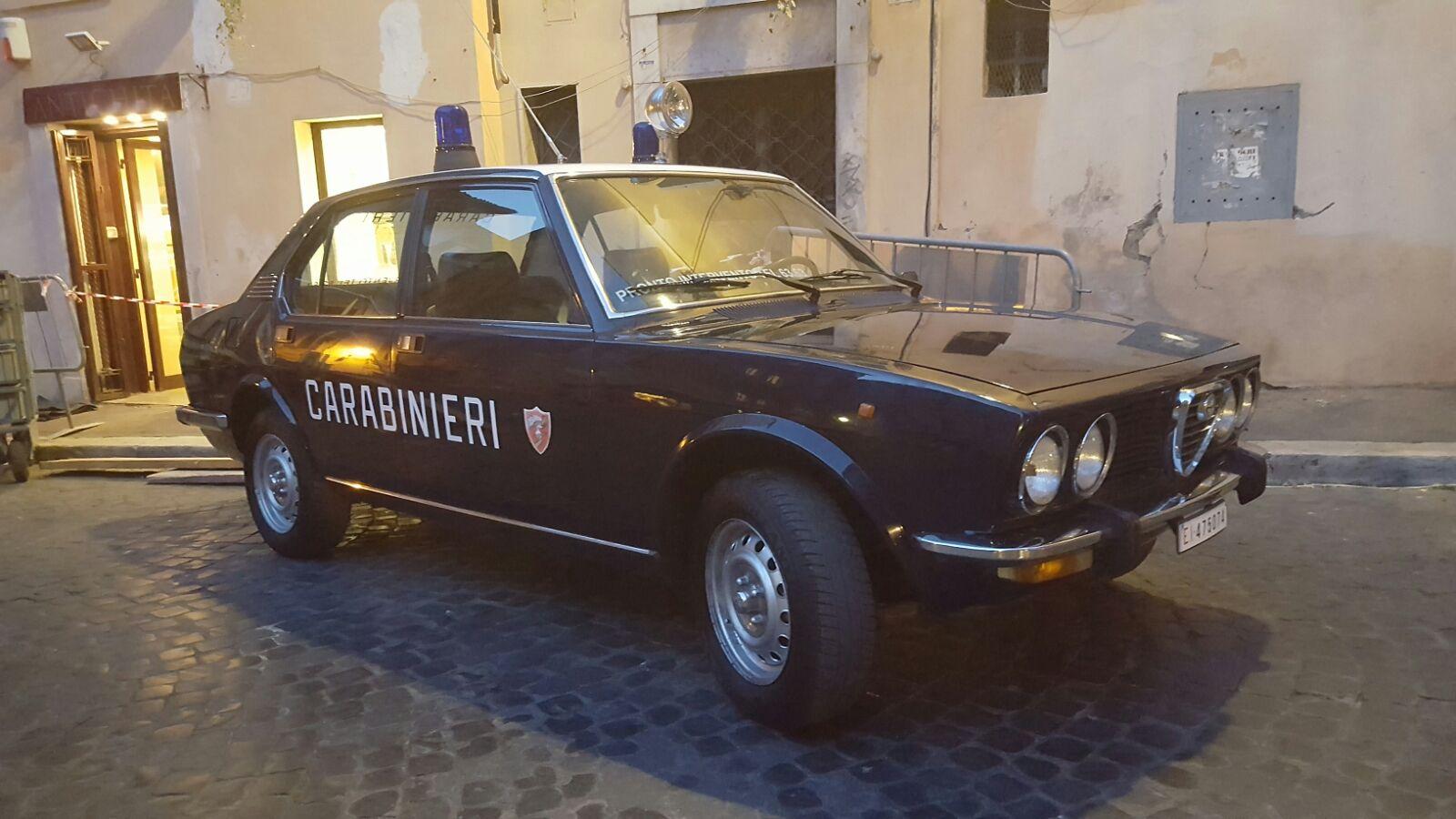 """Sul Set di """"GORE"""" con L'Alfetta Carabinieri"""